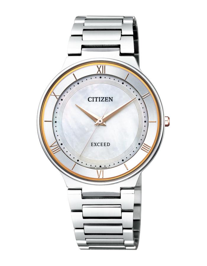 【送料無料!】シチズン AR0080-58P メンズ腕時計 エクシード|CITIZEN EXCEED 男性 エコ ドライブ サファイアガラス 白蝶貝文字板 5気圧防水