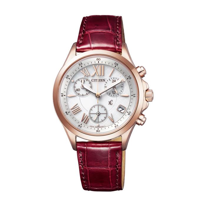 【送料無料!】シチズン FB1405-07A レディース腕時計 クロスシー|CITIZEN xC 女性 おしゃれ かわいい サクラピンクプチ エコドライブ 10気圧防水 クロコ革