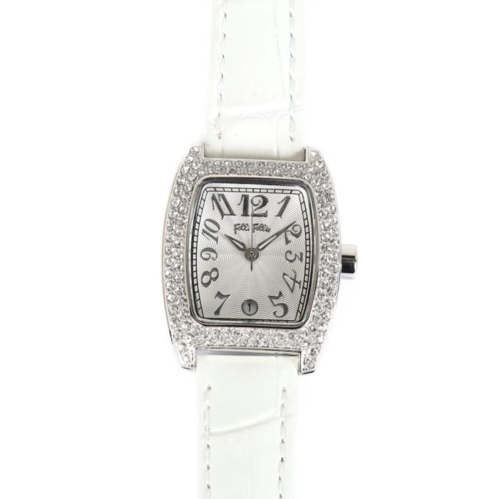 【送料無料!】フォリフォリ S922ZI/SLV/WHT レディース腕時計 0|FolliFollie 女性 ホワイト シルバー 人気 ギフト プレゼント