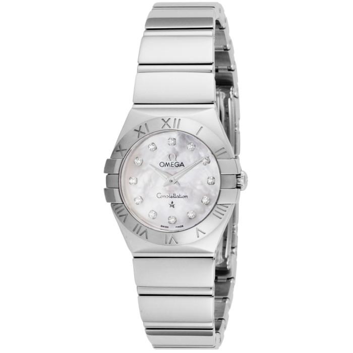 【送料無料!】オメガ 123.10.24.60.55.001 レディース腕時計 コンステレーション OMLOPD