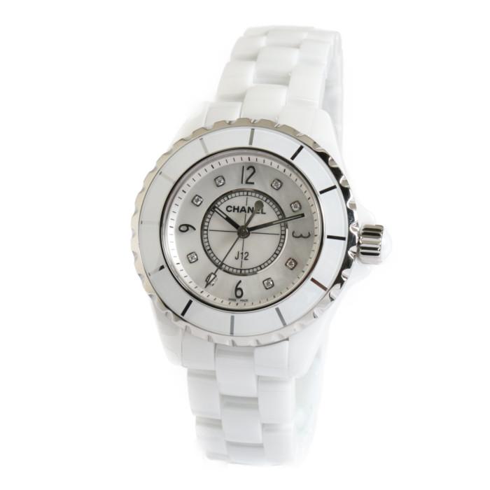 【ヤマト便】【送料無料!】シャネル J12 H2422WH レディース腕時計 J12