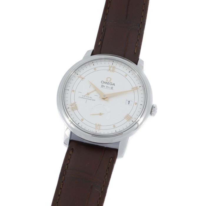 【ヤマト便】【送料無料!】オメガ 424.13.40.21.02.002 メンズ腕時計 デ・ヴィル OMLOPD