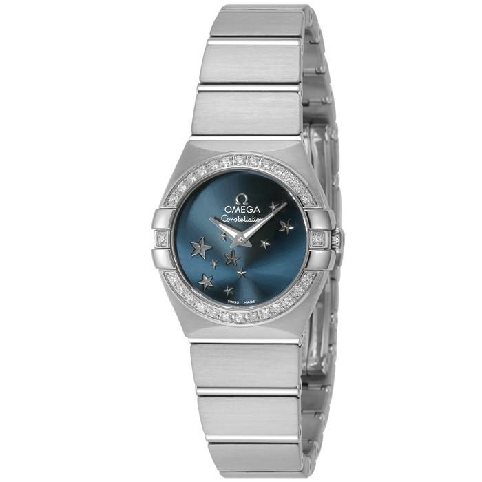 【ヤマト便】【送料無料!】オメガ 123.15.24.60.03.001 レディース腕時計 コンステレーション IMPWATCH OMLOPD