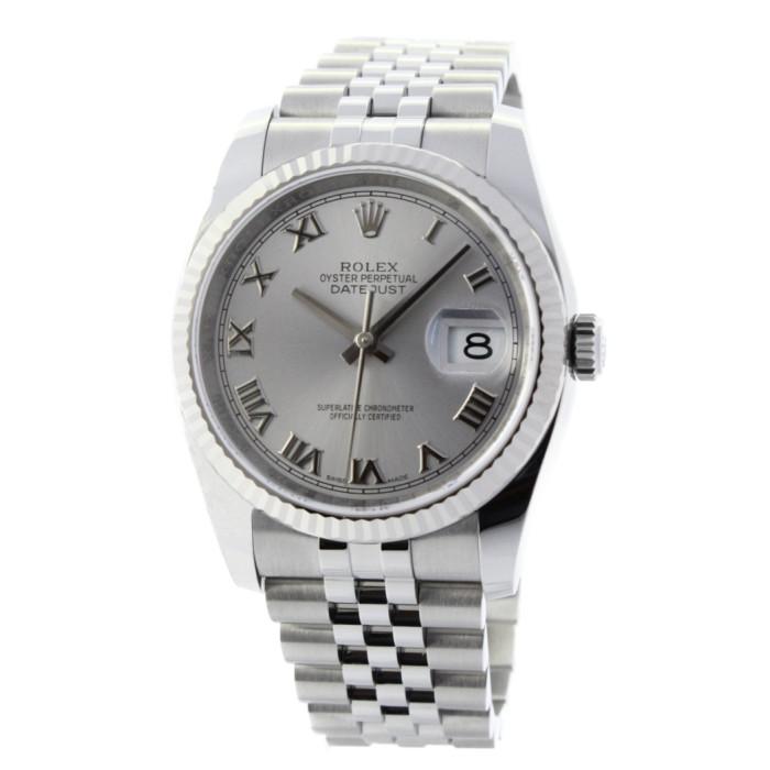 【ヤマト便】【送料無料!】ロレックス 116234 メンズ腕時計 デイトジャスト|ROLEX 男性 人気 おしゃれ ホワイト シルバー