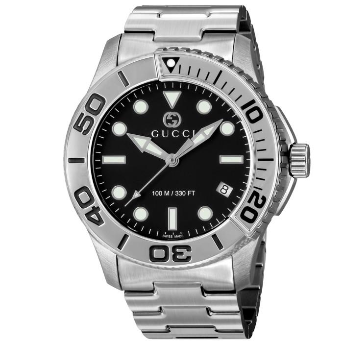 【送料無料!】グッチ YA126277 メンズ腕時計 ダイバ-