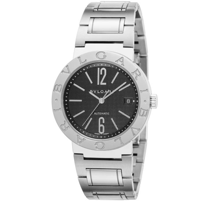 【ヤマト便】【送料無料!】ブルガリ BB38BSSD メンズ腕時計|BVLGARI 人気 ブランド シルバー ブラック 男性