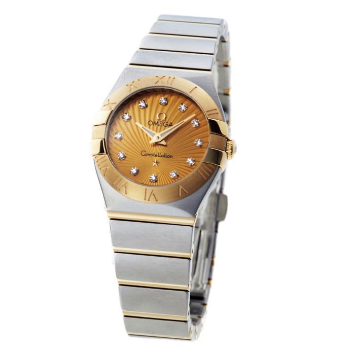 【ヤマト便】【送料無料!】オメガ 123.20.24.60.58.001 レディース腕時計 コンステレーション OMLOPD