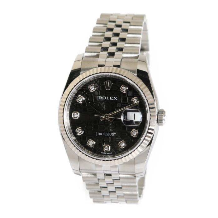 【ヤマト便】【送料無料!】ロレックス 116234G BK/CP メンズ腕時計 デイトジャスト IMPWATCH