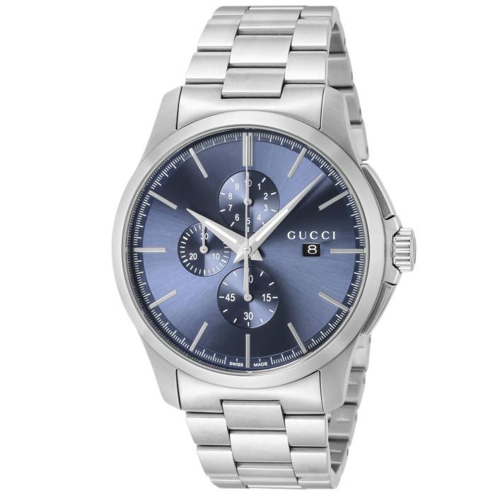 【送料無料!】グッチ YA126273 メンズ腕時計 Gタイムレスクロノ