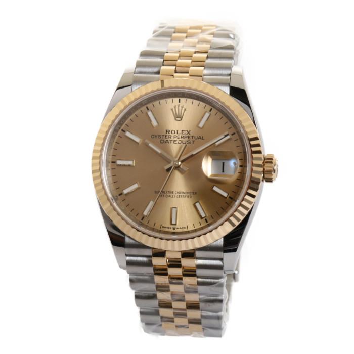 【ヤマト便】【送料無料!】ロレックス 126233CH メンズ腕時計 デイトジャスト|ROLEX DATEJUST 男性 かっこいい 人気 ウォッチ シルバー シャンパンゴールド