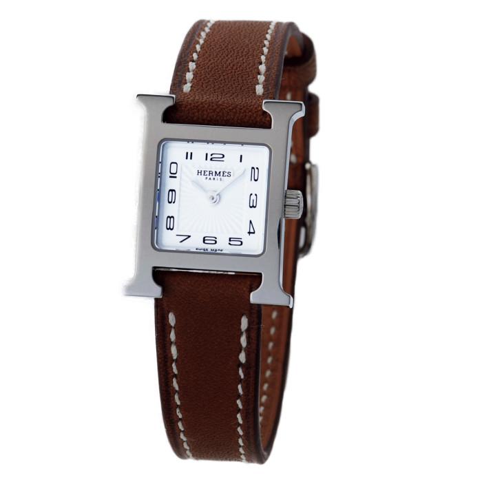 【送料無料!】エルメス 037961WW00 レディース腕時計 エイチウォッチ|HERMES 女性 人気 おしゃれ Hウオッチ かわいい 革 華やか