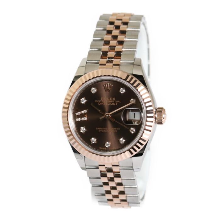 【ヤマト便】【送料無料!】ロレックス 279171G CH/9D レディース腕時計 デイトジャスト