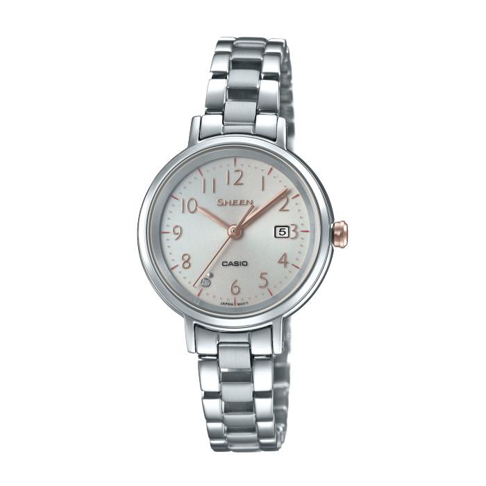 【送料無料!】カシオ SHS-D100D-4AJF レディース腕時計 シーン