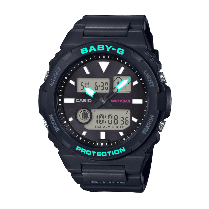 【送料無料!】カシオ BAX-100-1AJF レディース腕時計 ベビーG