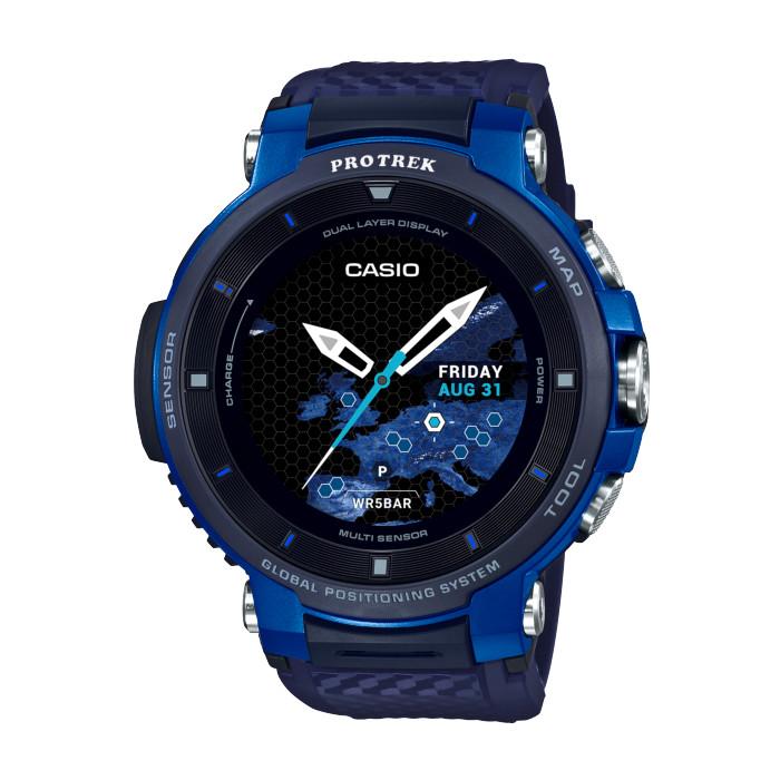 【送料無料!】カシオ WSD-F30-BU メンズ腕時計 PROTREK SMART
