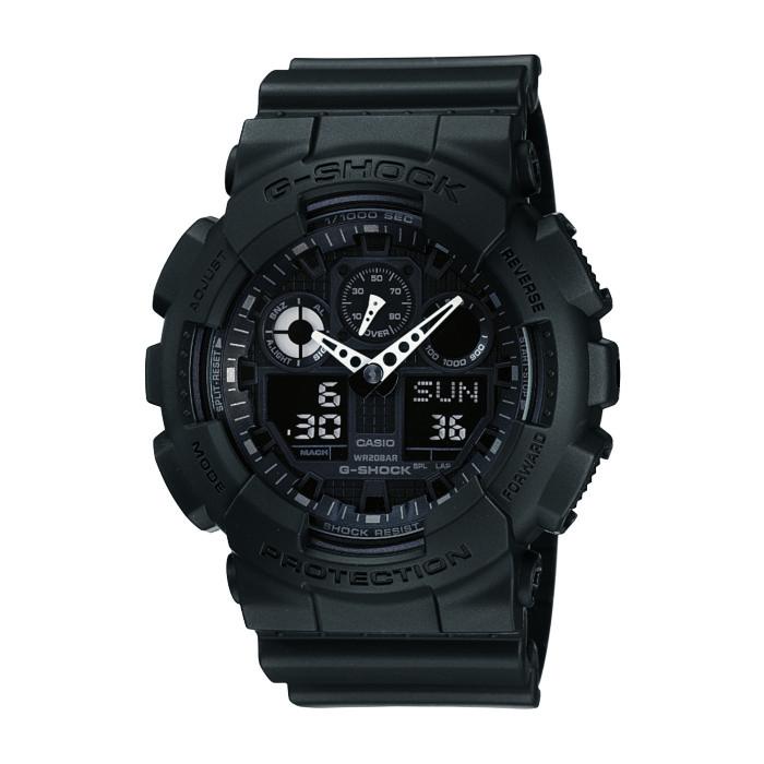取寄品 【送料無料!】カシオ GA-100-1A1JF メンズ腕時計 G-SHOCK