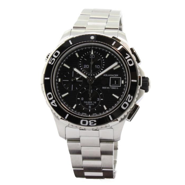 【ヤマト便】【送料無料!】タグホイヤー CAK2110.BA0833 メンズ腕時計 アクアレーサー 500m クロノグラフ セラミック