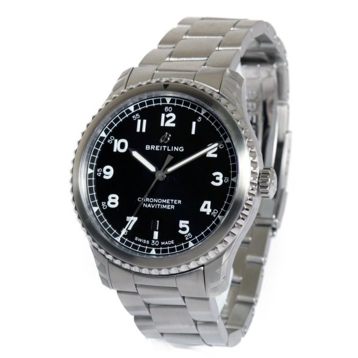【ヤマト便】【送料無料!】ブライトリング A168B-1PSS メンズ腕時計 ナビタイマー8 オートマティック 41