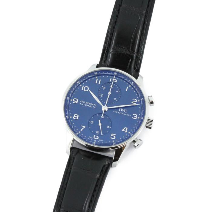 【ヤマト便】【送料無料!】IWC IW371491BL メンズ腕時計 ポルトギーゼ クロノグラフ オートマチック