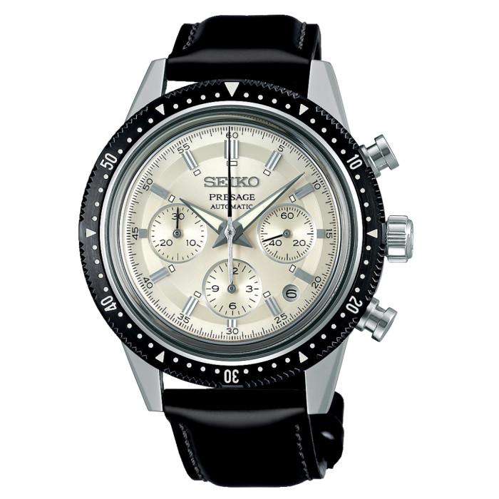 【送料無料!】セイコー SARK015 メンズ腕時計 プレザージュ SEIKO PROSPEX 男性 人気 プレゼント ギフト 55周年 記念 限定 シルバー ブラック 革 コードバン NEWWATCH