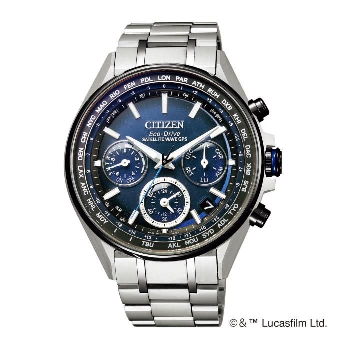 【送料無料!】シチズン CC4005-63L メンズ腕時計 アテッサ|CITIZEN ATTESA 男性 人気 プレゼント エコドライブ GPS 衛星 電波 F950 スターウォーズ ダースベイダー 限定 シルバー ブルー