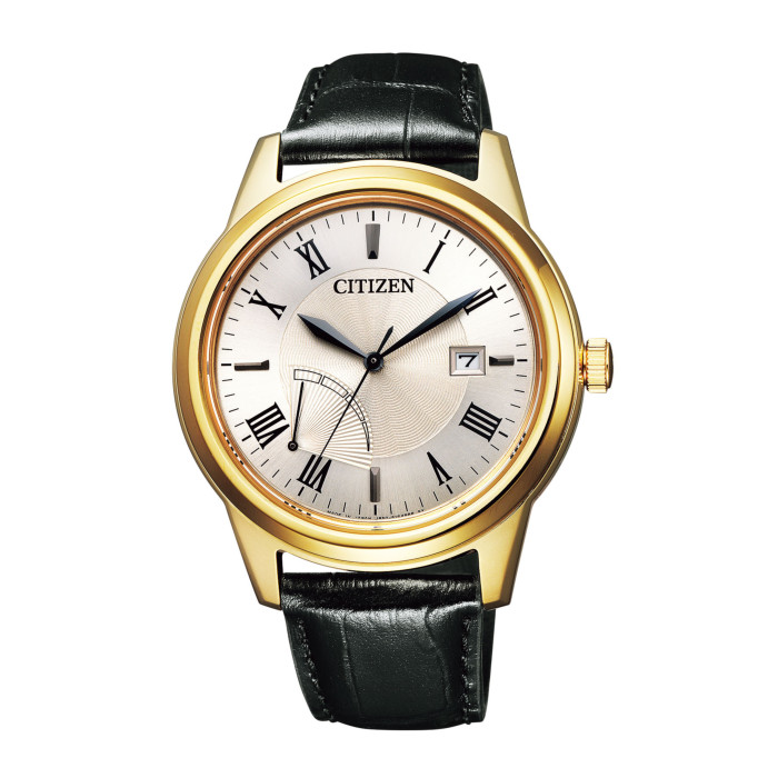 【送料無料!】シチズン AW7002-10P メンズ腕時計 シチズンコレクション CITIZEN COLLECTION 男性 海外モデル 特定店取扱いモデル エコドライブ リングソーラー ブラック イエロー ゴールド