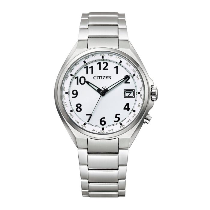 【送料無料!】シチズン CB1120-50B メンズ腕時計 アテッサ NEWWATCH CITIZEN ATTESA 男性 ギフト プレゼント エコドライブ 電波時計 ダイレクトフライト シルバー