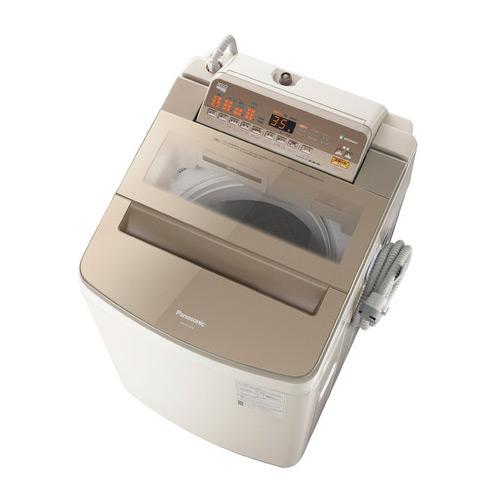 基本設置無料・埼玉・千葉・神奈川・東京都限定配送 パナソニック 10kg 全自動洗濯機 NA-FA100H6-T ブラウン Panasonic NAFA100H6T|日本製 インバーター 自動槽洗浄 泡洗浄
