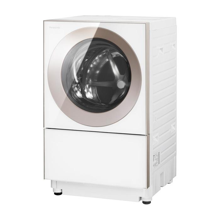 基本設置無料 埼玉・千葉・神奈川・東京都限定配送 パナソニック 10kg 左開き ドラム式洗濯乾燥機 NA-VG1300L-P ピンクゴールド Panasonic NAVG1300L|キューブル Cuble ドラム式洗濯機 ななめドラム 乾燥機能付き 日本製