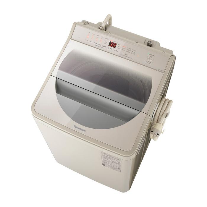 パナソニック 9kg 全自動洗濯機 NA-FA90H7-C ストーンベージュ 埼玉・千葉・神奈川・東京都限定配送 Panasonic NAFA90H7 縦型 インバーター 自動槽洗浄 泡洗浄