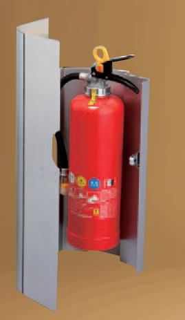 【壁付タイプ】消火器ボックス  壁付型 04K【ボックス】