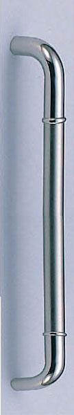 【新築工事】【戸建】【ドアハンドル】ステンレスを使用したドア取っ手(ハンドル) ドアハンドル ステン 丸棒取っ手 両面用 バイブレーション 450ミリ【引戸に最適】