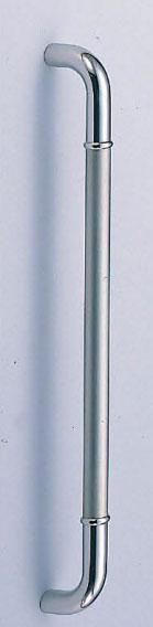 【新築工事】【戸建】【ドアハンドル】ステンレスを使用したドア取っ手(ハンドル) ドアハンドル ステン 丸棒取っ手 両面用 ヘアーライン 600ミリ【引戸に最適】
