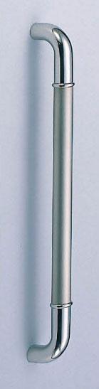 【新築工事】【戸建】【ドアハンドル】ステンレスを使用したドア取っ手(ハンドル) ドアハンドル ステン 丸棒取っ手 両面用 ヘアーライン 大【引戸に最適】