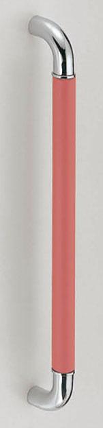 【新築工事】【戸建】【ドアハンドル】ステンレスとレザーを使用したドア取っ手(ハンドル) ドアハンドル 革巻き取っ手 両面用 600ミリ【引戸に最適】