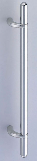 【新築工事】【戸建】【ドアハンドル】ステンレスを使用したドア取っ手(ハンドル) ドアハンドル ステンカプセル取っ手 両面用 鏡面磨 600ミリ【引戸に最適】