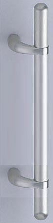 【新築工事】【戸建】【ドアハンドル】ステンレスを使用したドア取っ手(ハンドル) ドアハンドル ステンカプセル取っ手 両面用 ヘアーライン 600ミリ【引戸に最適】