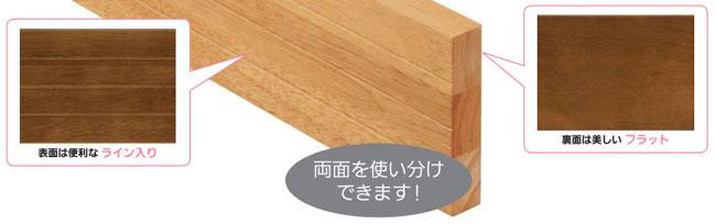 木製ベースプレート 100ミリ幅×4M【手すり部材】【ブラケットベース】【木製下地】