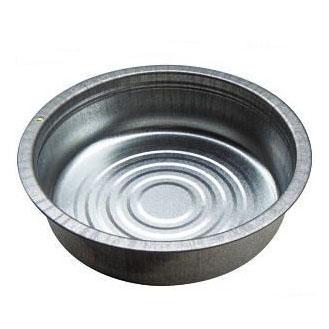 トタンタライ 60cm トタン製タライ 厚み0.4mm 土井金属(金たらい かなだらい)