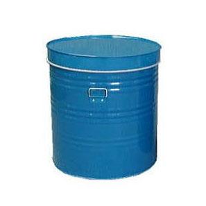 穀物貯蔵缶 丸缶3.5斗 44×44×h55cm 0.27厚 2kg 米缶 雑缶