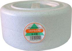 現品 つけもの石の定番 信頼の品質です 食品衛生法適合の素材を使用しています 丈夫で安心 衛生的に使えます 新輝合成 5.5kg 本体 5.5型 漬物石 大人気 つけもの石 トンボ