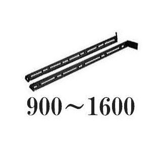 黒耐熱ステンレス 壁面煙突取付スライド支え脚 900~1600 DANTEX