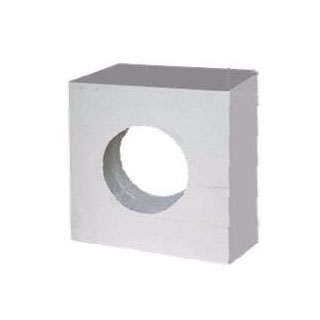 壁面煙突取付 断熱眼鏡石φ210×150(煙突φ200用) DANTEX