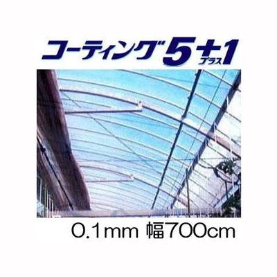 農POフィルム コーティング5+1 UV プラス1厚み0.1mm 幅700cm 長さ30m+切売り タキロン シーアイ【smtb-ms】[農POフィルム]