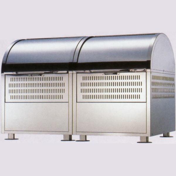 環境ステーション WS-1800 (幅1800×容量1100L)[大型ゴミ集積箱 ワイドステーション 瀧商店]