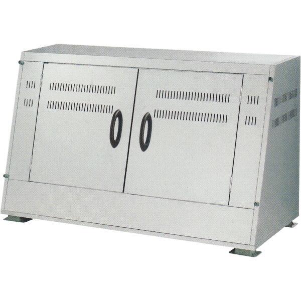 大型ごみ箱 ジャンボステン SU-1100CT (1100L)[ステンレス製大型集積保管庫 ゴミ箱 瀧商店 マンション アパート] ゴミステーション ステーションボックス