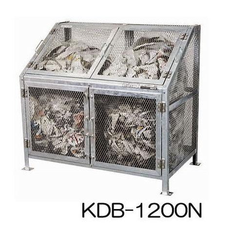 NEW メッシュゴミ収集庫 KDB-1200N(組立式) グリーンライフ[大型ゴミ箱 ゴミ集積箱]【smtb-ms】