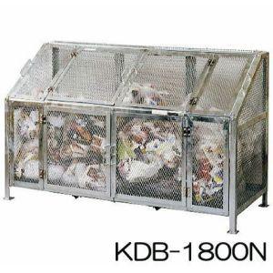 NEW メッシュゴミ収集庫 KDB-1800N(組立式) グリーンライフ[大型ゴミ箱 ゴミ集積箱] ゴミステーション ステーションボックス