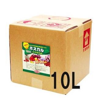 液肥なら瀧商店 メーカー再生品 送料無料トマトのカルシュウム補給に 時間指定不可 亜リン酸液肥 ホスカル サカタのタネ 10L 12kg
