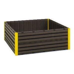樹脂製 堆肥枠 AC-1200 1200mm×1200mm×高さ488mm (法人個人選択) コダマ樹脂工業 yuas[堆肥わく 堆肥ワク 肥料 土 瀧商店]
